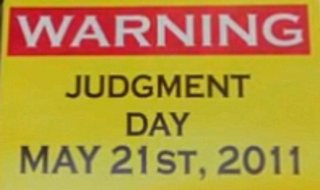 Judgment Day? No Way! What's Behind the May 21, 2011 End of the World Rumors (1/2)