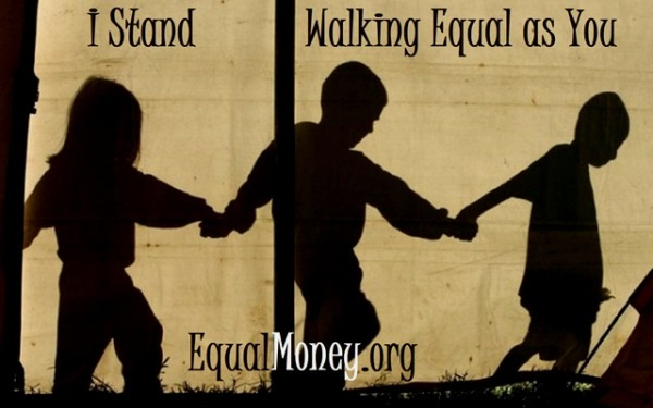 Standing Equally Walking