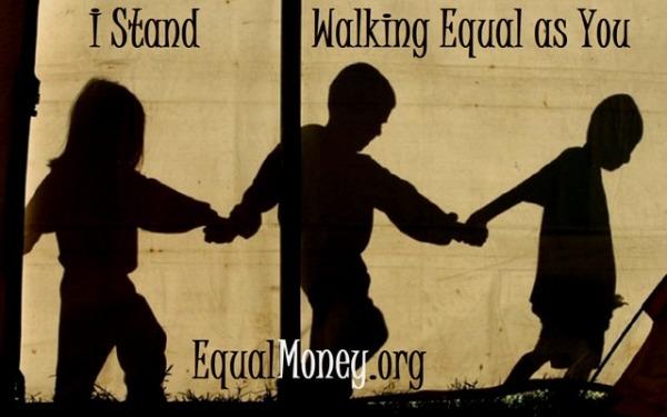 Standing Equally Walking