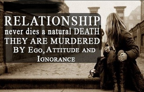 death of a relationship